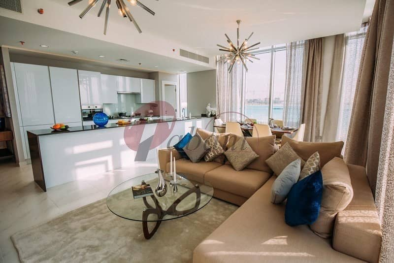 18 Furnished   1BR + Maids Room Water View