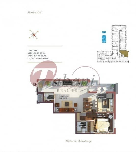 16 Vacant 1 BR| Brand New | Spacious Layout