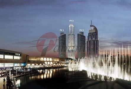شقة 2 غرفة نوم للبيع في وسط مدينة دبي، دبي - Amazing Full Fountain and Burj  view  04 Series