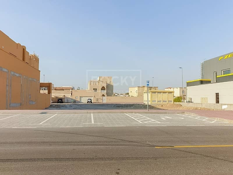 Residential Plot | G+1 | Al Barsha 3