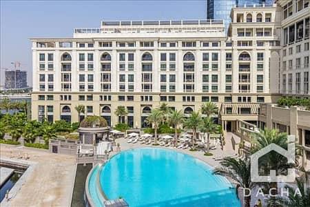 شقة 3 غرفة نوم للايجار في القرية التراثية، دبي - LUXURY FURNISHED 3BED+M/POOL FACING