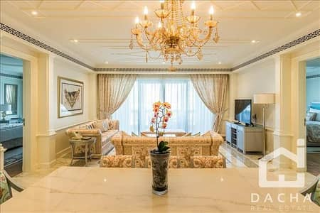 2 Bedroom Apartment for Rent in Culture Village, Dubai - LUXURY FURNISHED 2 BED VERSACE 165K/3CHQS