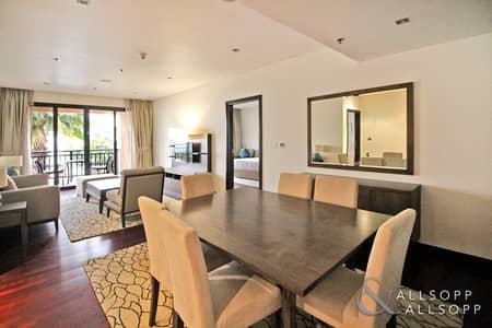 شقة 2 غرفة نوم للبيع في نخلة جميرا، دبي - Sea Burj Al Arab View | 5* Living | 2 Bed