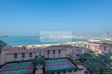 فلیٹ 2 غرفة نوم للبيع في مساكن شاطئ جميرا (JBR)، دبي - Furnished 2 BR Panoramic Sea View Vacant