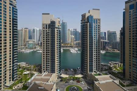 فلیٹ 3 غرفة نوم للبيع في مساكن شاطئ جميرا (JBR)، دبي - Full Marina View | Rented | Motivated To Sell