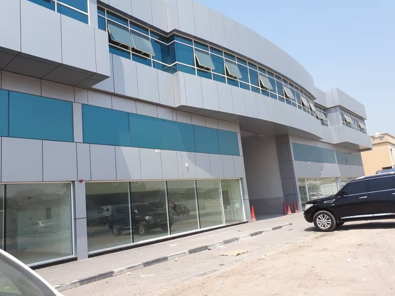 Showroom (1500, 2465 & 2322 Sq/Ft) with different size's available in Industrial No:15 -Sharjah