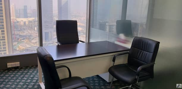 Office for Rent in Sheikh Zayed Road, Dubai - Elegant Affordable Office for Rent/Sheikh Zayed Road||Walkaway From Emirates Metro