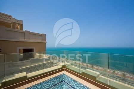 بنتهاوس 4 غرفة نوم للبيع في نخلة جميرا، دبي - Luxury 4 BR Penthouse with Full Sea View