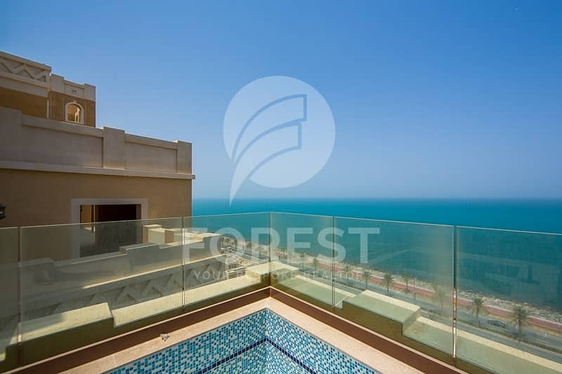 2 Luxury 4 BR Penthouse with Full Sea View