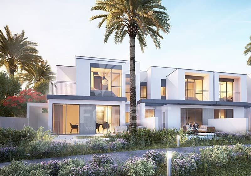 5 BR Villa with 50% Post Handover Payment Plan