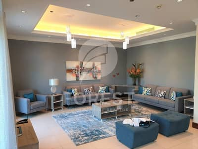3 Bedroom Penthouse for Rent in Palm Jumeirah, Dubai - Elegantly Furnished 3 Beds Duplex Penthouse