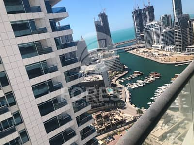 1 Bedroom Flat for Sale in Dubai Marina, Dubai - Furnished 1 Bed with Marina View | Free Chiller