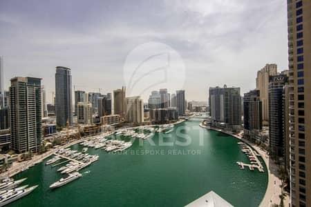 فلیٹ 3 غرفة نوم للبيع في دبي مارينا، دبي - Spacious 3 BR + Maids Room with Full Marina View