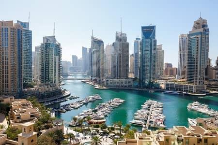 فلیٹ 2 غرفة نوم للبيع في دبي مارينا، دبي - Vacant On Transfer 2BR with Full Marina View+Study