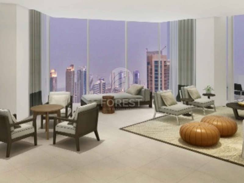 2 Great Investment 1BR Marina View in Vida Residence