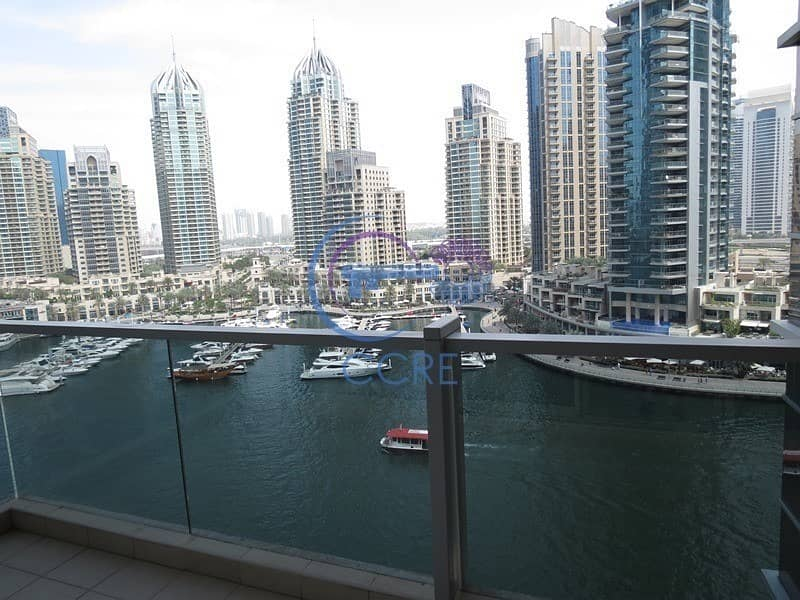 2 Marina & Sea View | 3 BR + Maid | Large Balcony