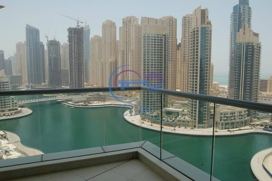2 Full Marina View | 3 BR + Maid | Trident Bay Side