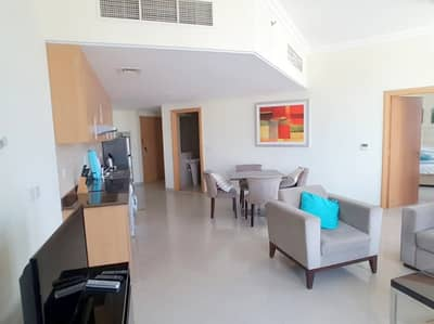 1 Bedroom Flat for Rent in Arjan, Dubai - Furnished 1 BR with 3 Balcony in Lincoln Park Arjan