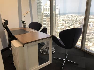 Office for Rent in Sheikh Zayed Road, Dubai - Furnished Luxurious office spaces in Dubai