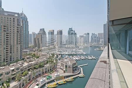 فلیٹ 1 غرفة نوم للايجار في دبي مارينا، دبي - Largest and rare layout | High end | Marina Gate