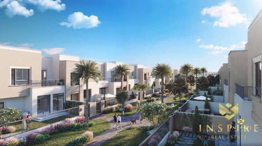 3 Bedroom Townhouse for Sale in Town Square, Dubai - SAMA Town Houses In Time Square 3BR with Maid Limited Units