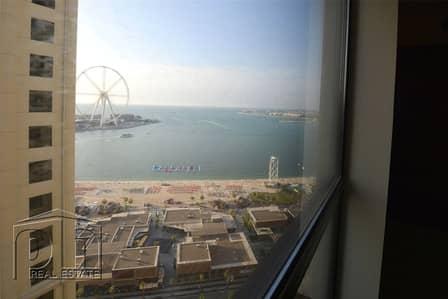 شقة 2 غرفة نوم للبيع في مساكن شاطئ جميرا (JBR)، دبي - JBR Specialist | High Floor | Rented