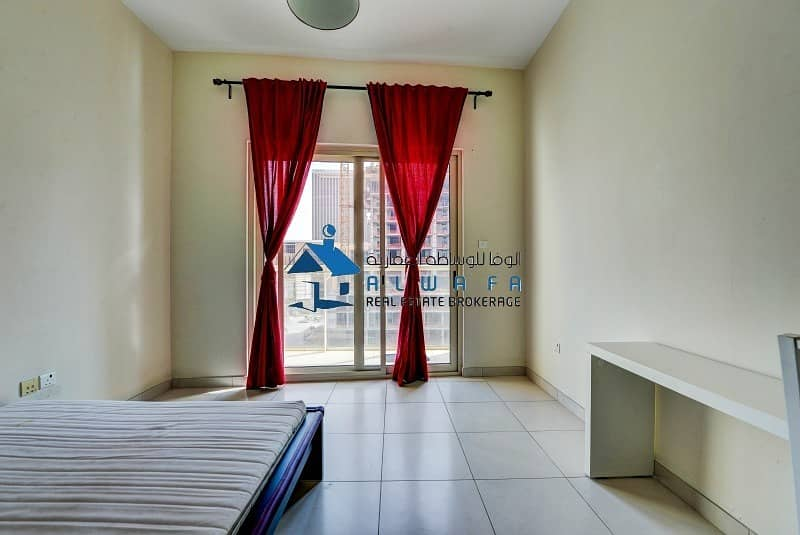 2 Semi-Furnished|Studio Apartment|Marina View Tower