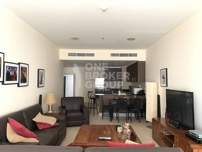 شقة 1 غرفة نوم للايجار في دبي مارينا، دبي - Big Unit