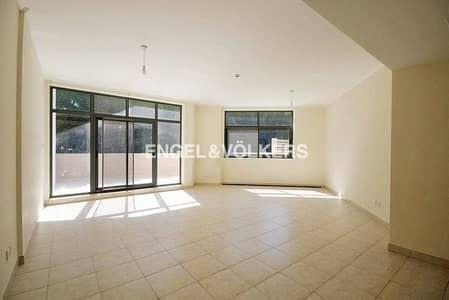 فلیٹ 3 غرفة نوم للايجار في ذا فيوز، دبي - Private Courtyard|Well Maintained|Spacious