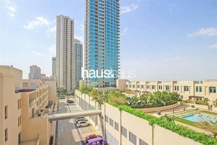 شقة 1 غرفة نوم للبيع في ذا فيوز، دبي - Vacant | Unique | Large Courtyard | Study