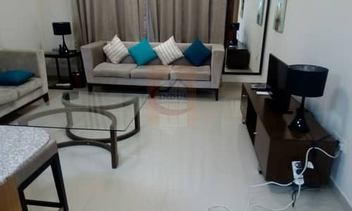 فلیٹ 1 غرفة نوم للايجار في داون تاون جبل علي، دبي - One bed for rent in Jabel ali downtown suburbia furnished