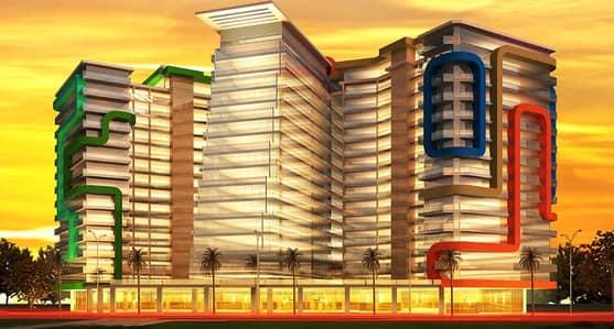 استوديو  للبيع في واحة دبي للسيليكون، دبي - شقة في البوابة العربية واحة دبي للسيليكون 426000 درهم - 4197349
