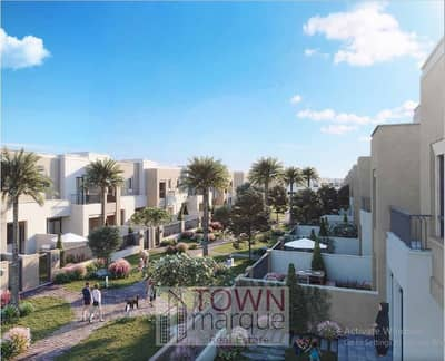 4 Bedroom Townhouse for Sale in Town Square, Dubai - High End Townhouses| 5% Down Payment Only