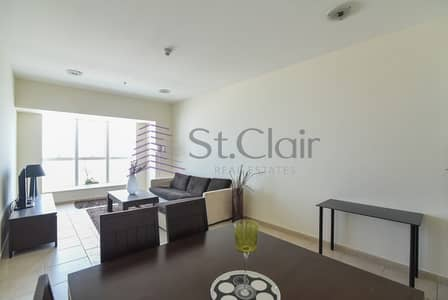 Furnished 2 Beds w/ Balcony | Sea View | Low Floor
