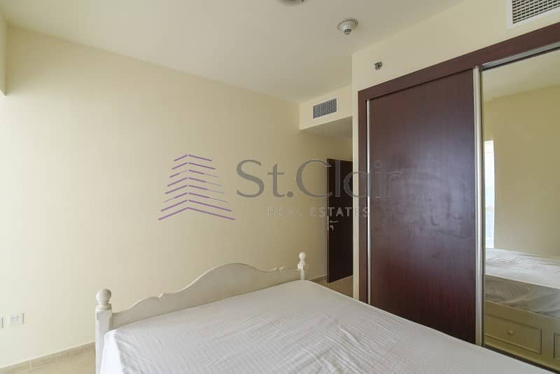 12 Furnished 2 Beds w/ Balcony | Sea View | Low Floor