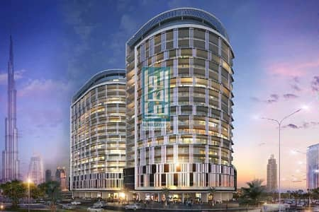 1 Bedroom Flat for Sale in Business Bay, Dubai - Ready to move luxury  Unit! Direct view of Burj khalifa and dancing  fountain at Majestine Allure, Business Bay.