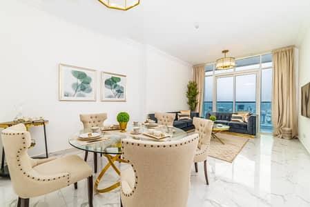 شقة 2 غرفة نوم للايجار في الراشدية، عجمان - شقة في أبراج الواحة الراشدية 1 الراشدية 2 غرف 42000 درهم - 4197642