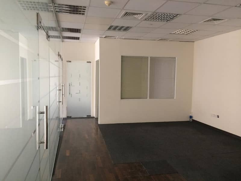 Fitted Office space in Al Barsha 1 | Bayut com