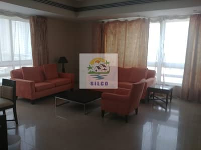3 Bedroom Flat for Rent in Al Salam Street, Abu Dhabi - 3 B/R FULLY FURNISHED INC. WATER AND ELECRICITY