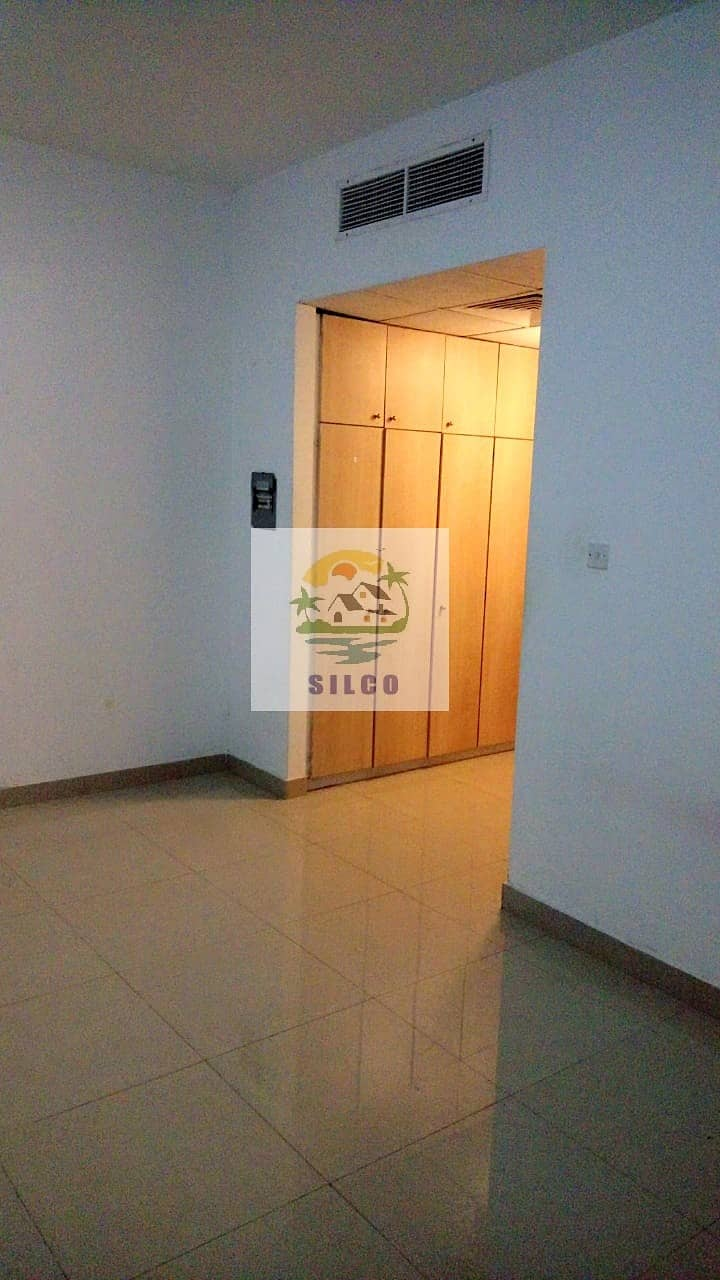 CENTRAL A/C STUDIO FLAT IN MADINAT ZAYED FOR 35K