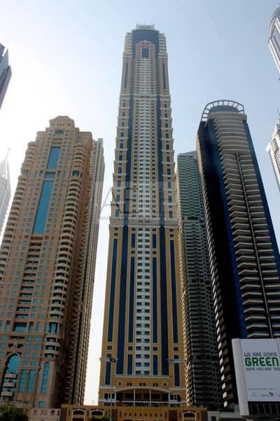 شقة 1 غرفة نوم للايجار في دبي مارينا، دبي - Spacious One Bed | Higher Floor | Rent Today