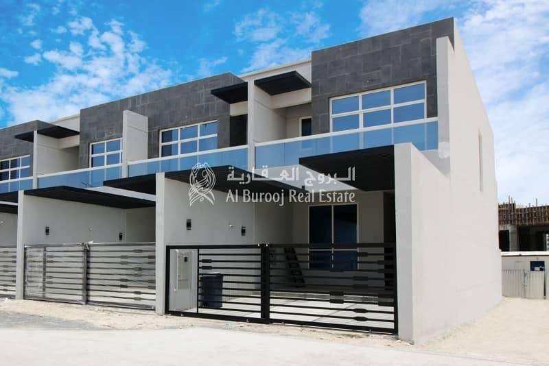 Luxury Townhouse in Al Burooj Residence V at Al Furjan