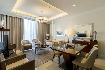 1 Bedroom Flat for Sale in Downtown Dubai, Dubai - Low Floor 1 Bed Full Burj Khalifa View .
