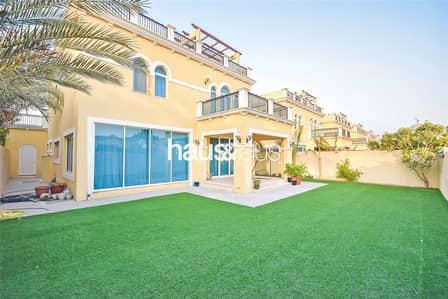4 Bedroom Villa for Sale in Jumeirah Park, Dubai - Single Row | New to Market | Park Facing