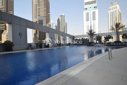 فلیٹ 2 غرفة نوم للايجار في دبي مارينا، دبي - Chiller Free I 2 Bedroom I Dubai Marina