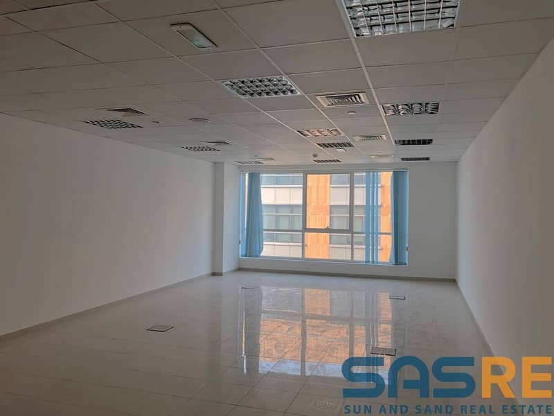 Net Size fitted Office maintained building
