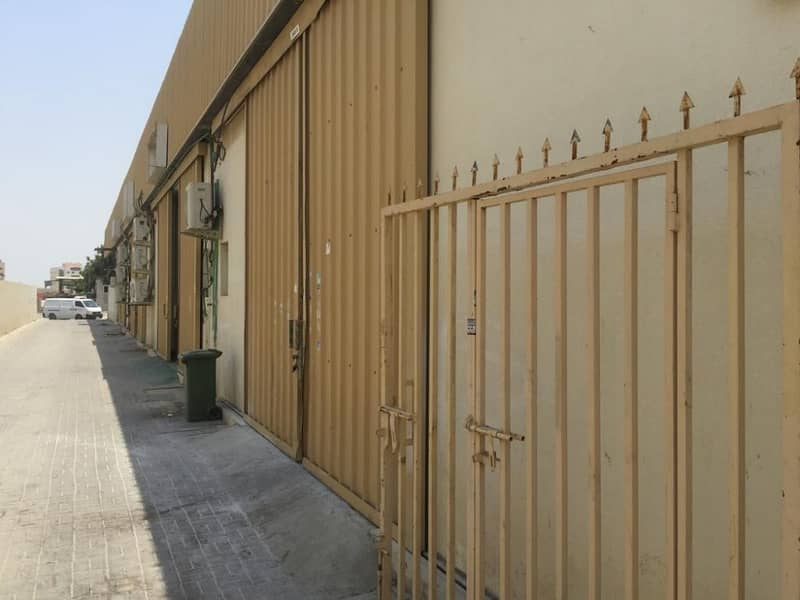 Available 1450 sqft  Warehouse for rent in al Jurf Area