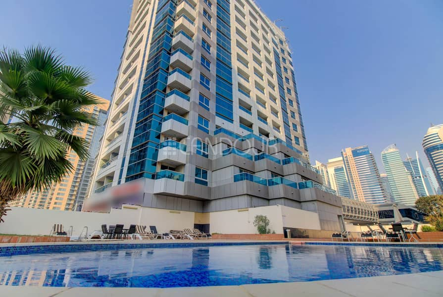 Spacious 1 BR | Fully Furnished | Marina Diamond 3