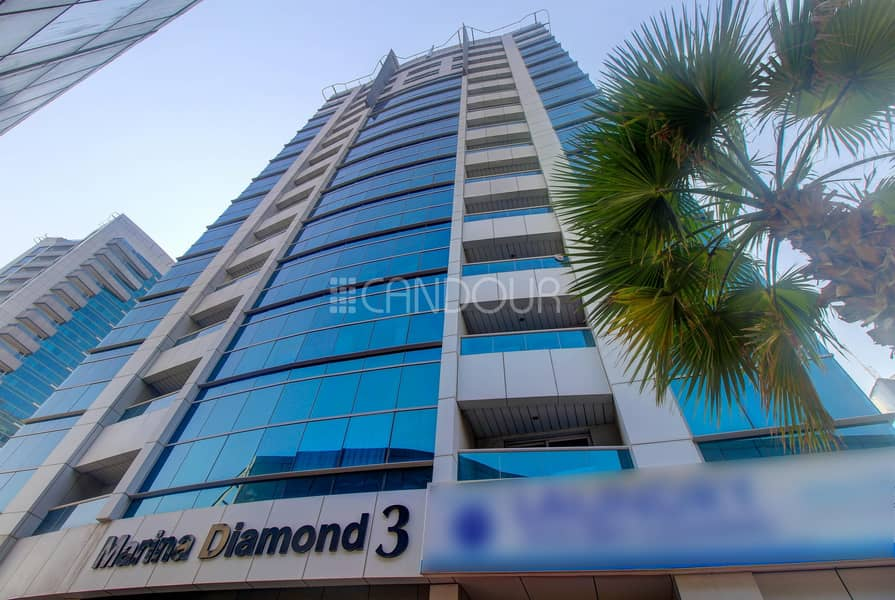 2 Spacious 1 BR | Fully Furnished | Marina Diamond 3