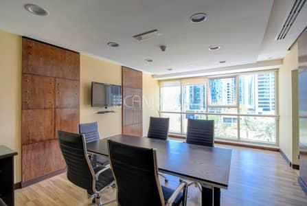 مکتب  للايجار في أبراج بحيرات جميرا، دبي - Fully Fitted Office | Vacant | Goldcrest Executive